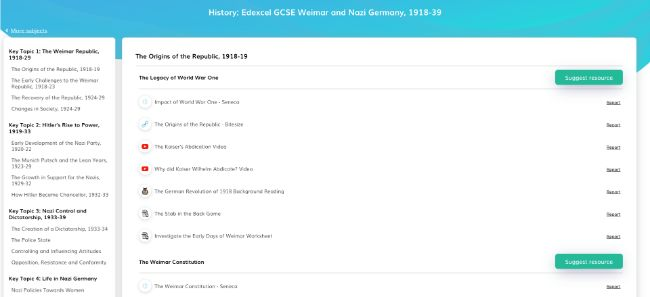 Free History Teaching Resources