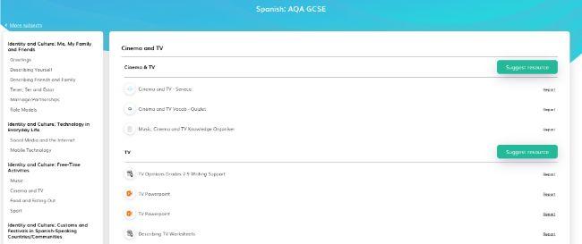 Free Spanish Teaching Resources