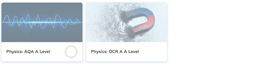 Physics A Level Revision Course