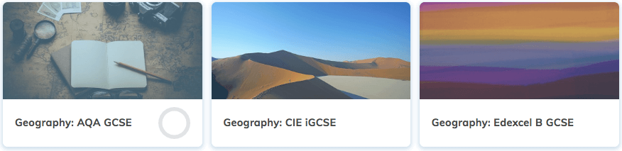Free GCSE Geography Revision Courses