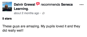 These guys are amazing. My pupils loved it and they did really well! - Dalvir Grewal  - Teacher