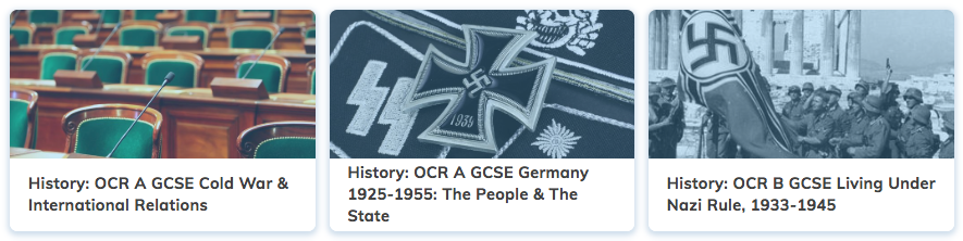 History Revision GCSE OCR A Course