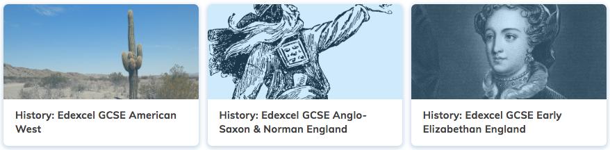 History Revision GCSE Edexcel Courses