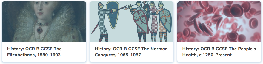 History Revision GCSE OCR B Course