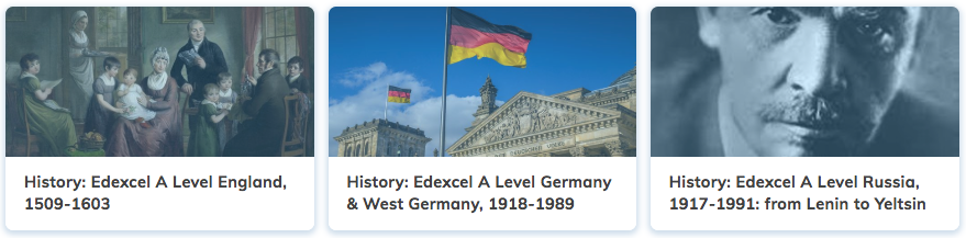 History Revision A Level Edexcel Courses