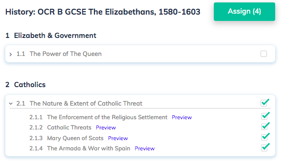 History: OCR B GCSE The Elizabethans, 1580-1603