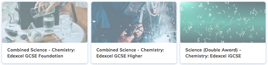 Edexcel GCSE Chemistry Revision
