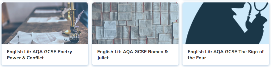 Free GCSE English Literature Revision Courses